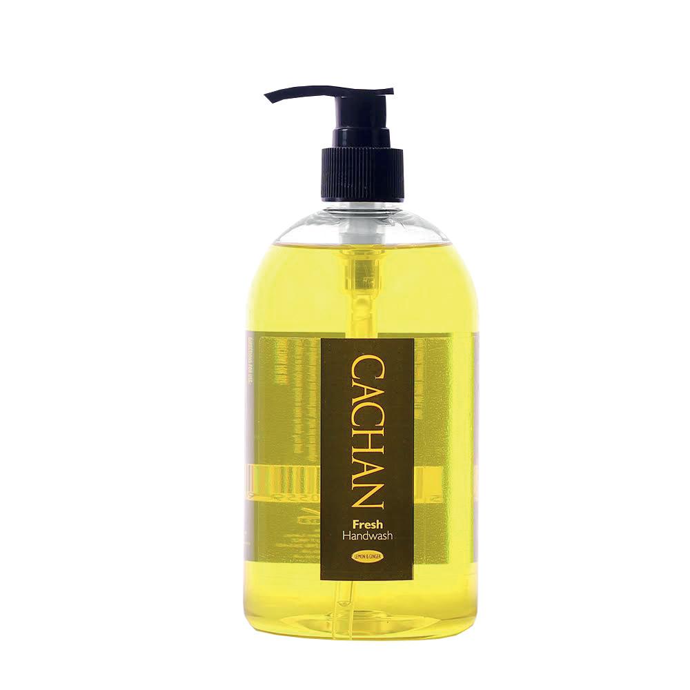 Soaps Cachan Fresh Handwash Lemon & Ginger Fragrance 485ml Ref 08260