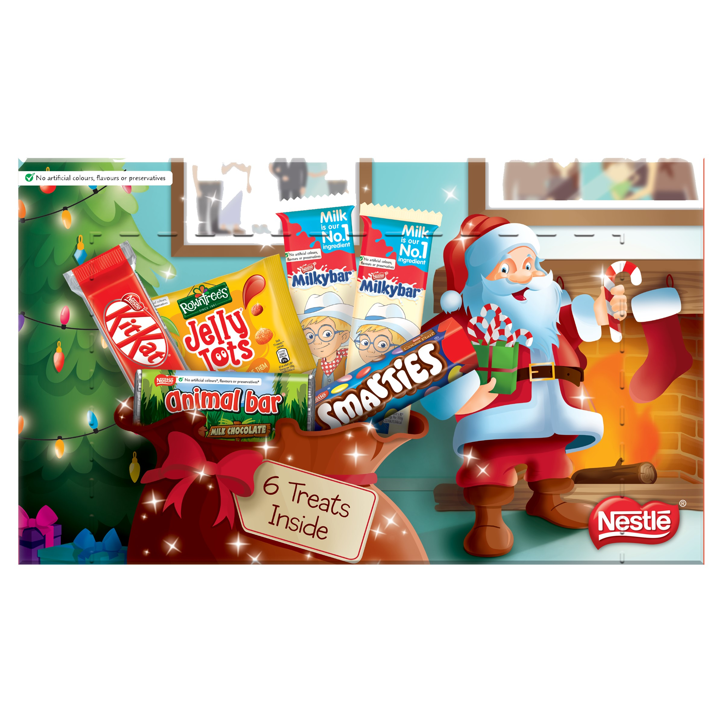 Chocolate or chocolate substitute candy Nestle Kids Medium Selection Box Assorted Packs Ref 12310859