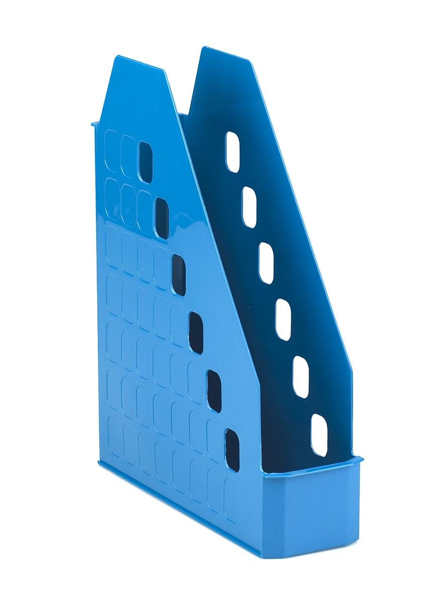 Image for Avery Basics Magazine Rack Low Front Design A4 Blue Ref 1135BLUE