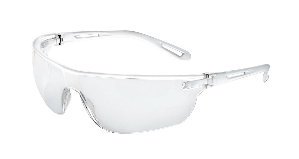 JSP Stealth Safety Spectacles Ultra Thin Lenses 16g EN166 1.F Clear Ref ASA920-161-300