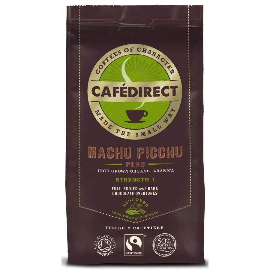 Cafe Direct Machu Pichu Coffee Fairtrade Roast and Ground 227g Ref A07354