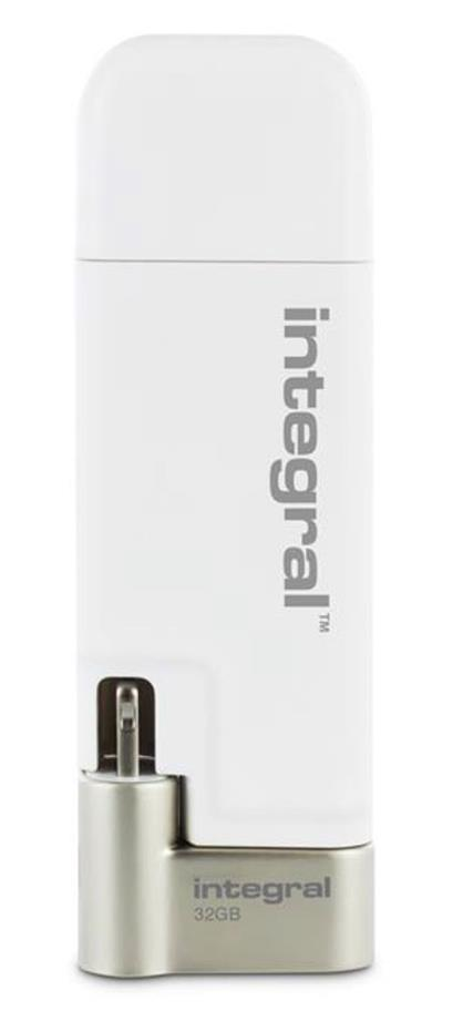 Integral iShuttle USB Drive 3.0 Capacity 32GB Ref INFD32GBISHUTTLE