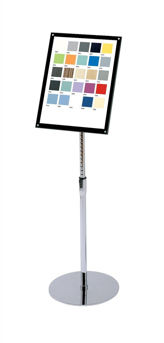 Image for Sign Holder with Bevel Magnetic Cover Floor Standing Heavyweight A3
