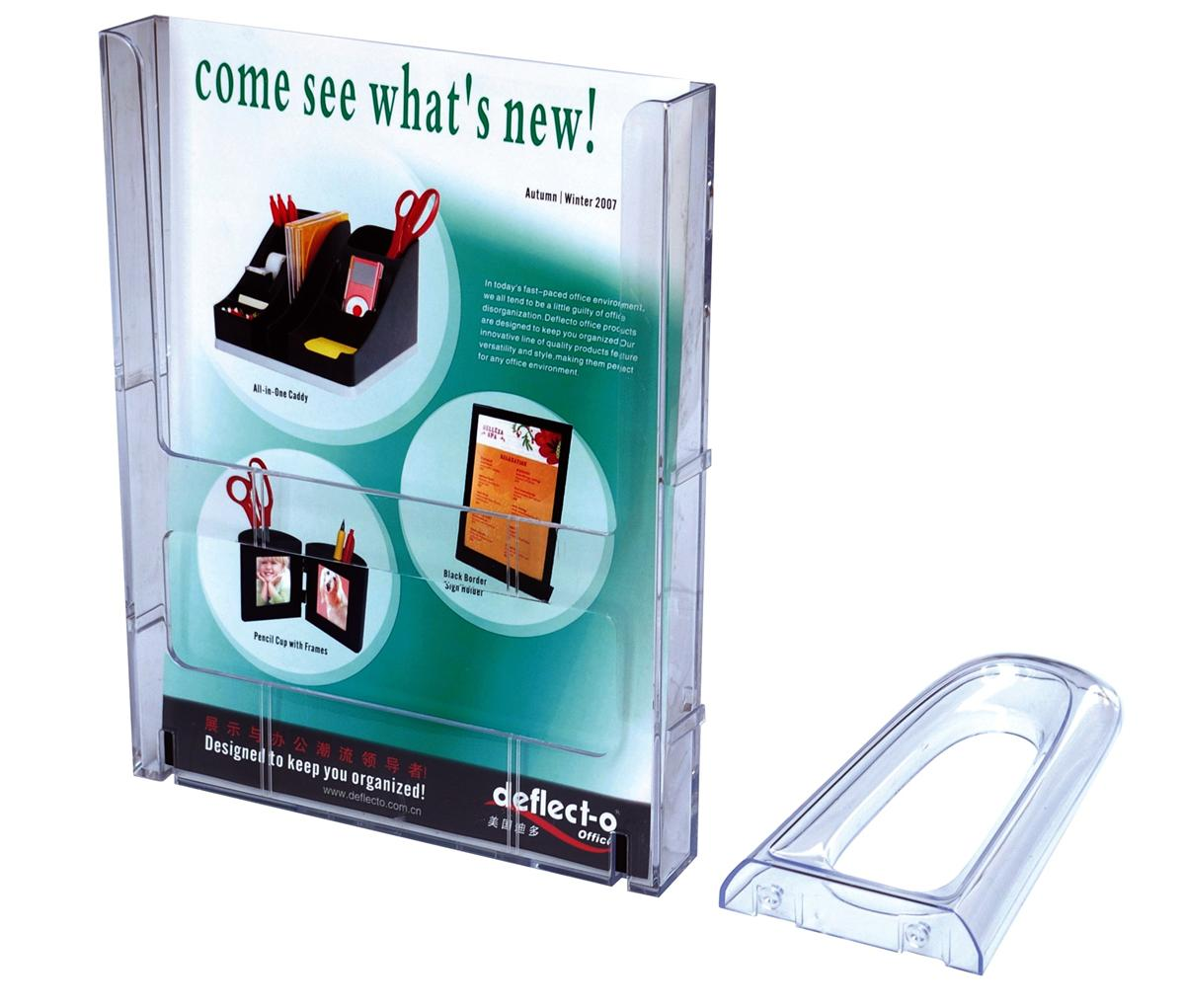 Image for Short Feet for Tiered Literature Holder 100x90mm
