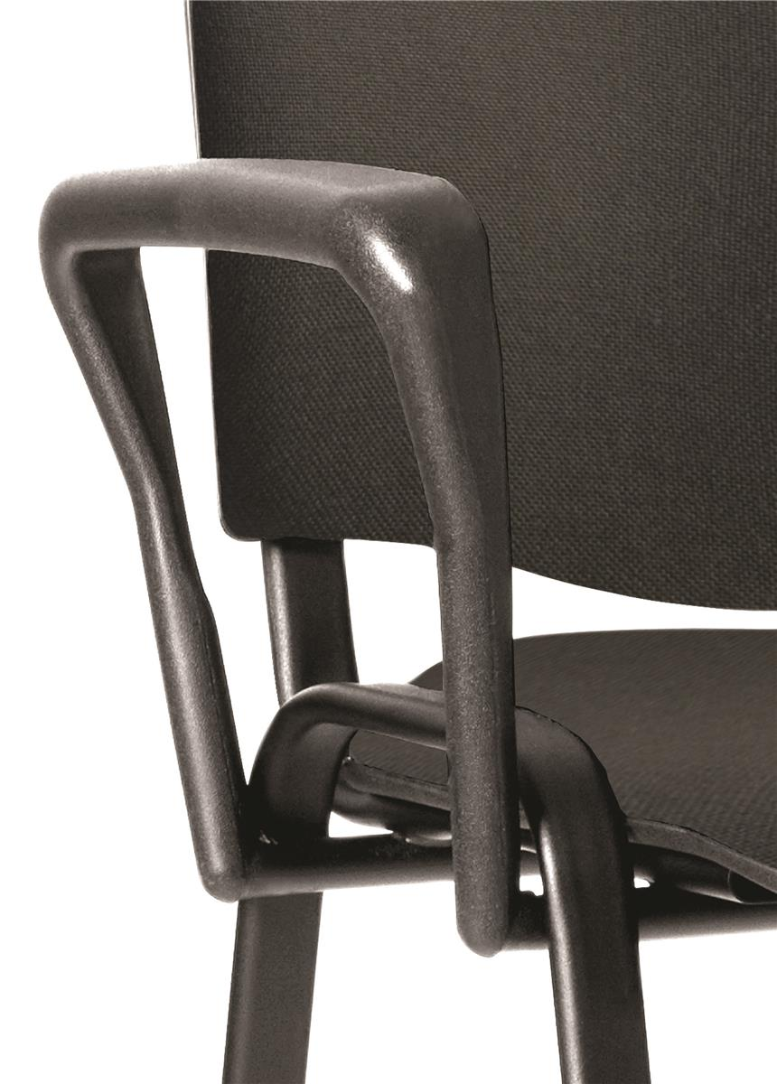 Trexus Arm Set for Stackable Chair Soft Touch Black
