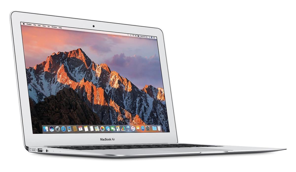 Image for Apple Mac Book Air 13in MacOS 256GB 8GB Ram Bluetooth WiFi Silver Ref MQD42B/A