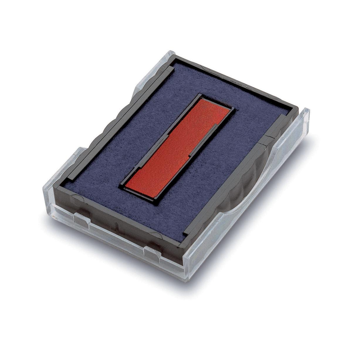 Image for Trodat Printy Replacement Ink Cartridge for 6/4750/2 Red and Blue Ref T6/4750/2 [Pack 10]