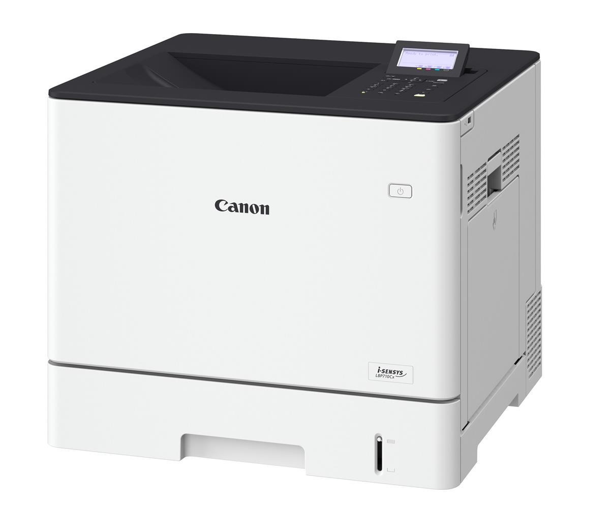 Canon I-SENSYS LBP710Cx Colour Laser Printer 33ppm White Ref 0656C009AA