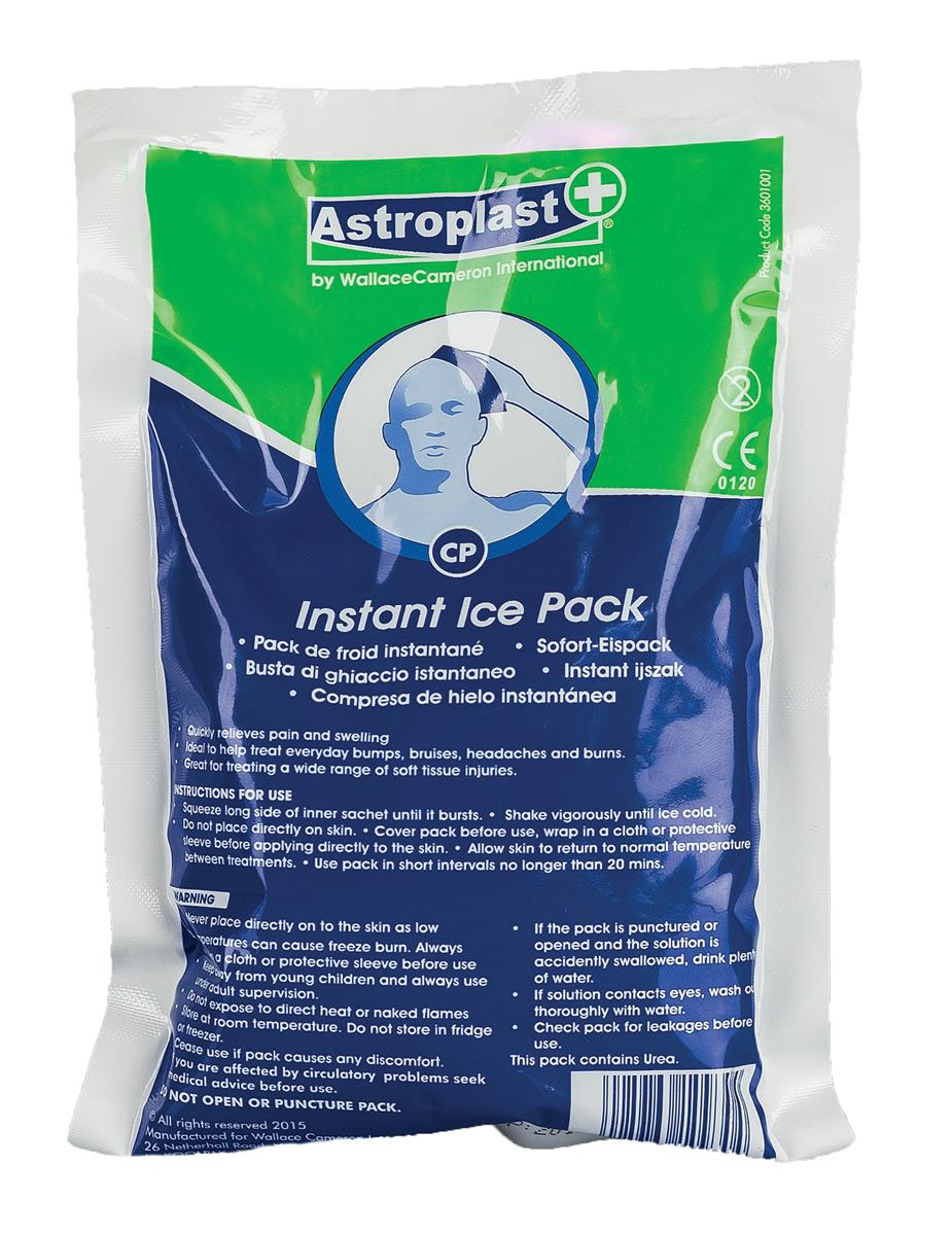 Wallace Cameron Instant Cold Pack Disposable Chemically-activated Ref 3601011