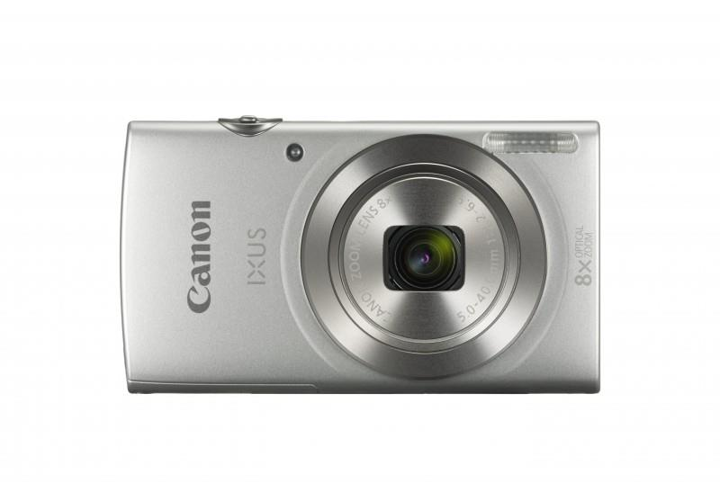 Image for Canon IXUS 185 Camera Kit 20MP 16x ZoomPlus Easy Auto Full HD Movies Silver Ref CAN2769