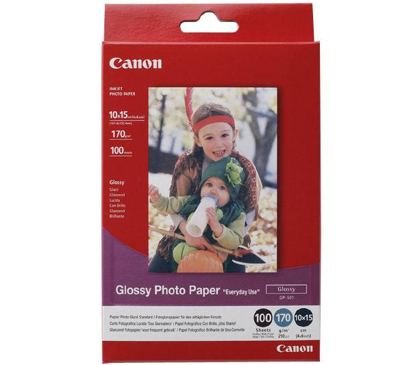 Image for Canon Photo Inkjet Paper Gloss 170gsm White Ref 0775B003 [100 Sheets]