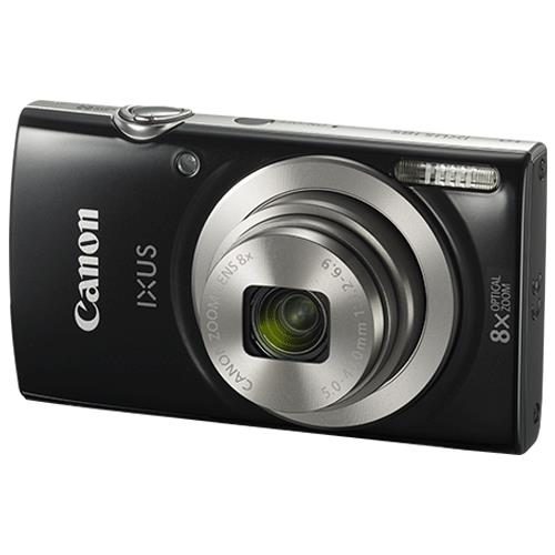 Image for Canon IXUS 185 Camera Kit 20MP 16x ZoomPlus Easy Auto Full HD Movies Black Ref CAN2768