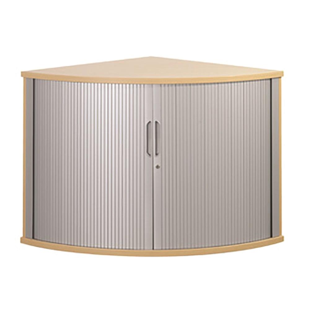 Image for Sonix Tambour Corner Cupboard 800mm Acer Maple