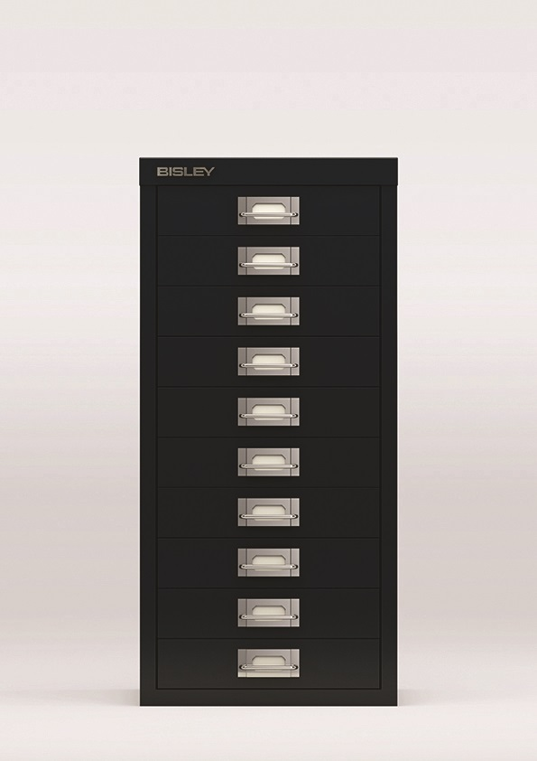 Image for Bisley SoHo Multidrawers 10-drawer 51mm Drawer Height Black