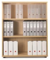 Image for Sonix Bookcase Medium One Shelf Acer Maple
