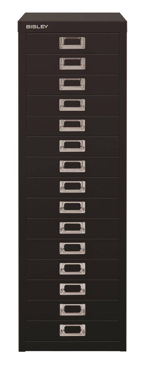 Image for Bisley SoHo Multidrawers 15-drawer 51mm Drawer Height Black
