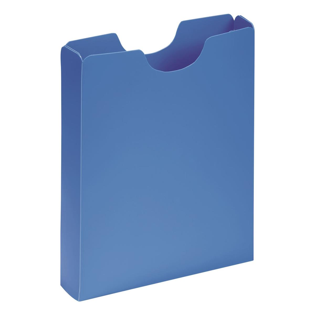 Image for Pagna Carry Case Polypropylene A4 Light Blue Ref 2100513 [Pack 10]