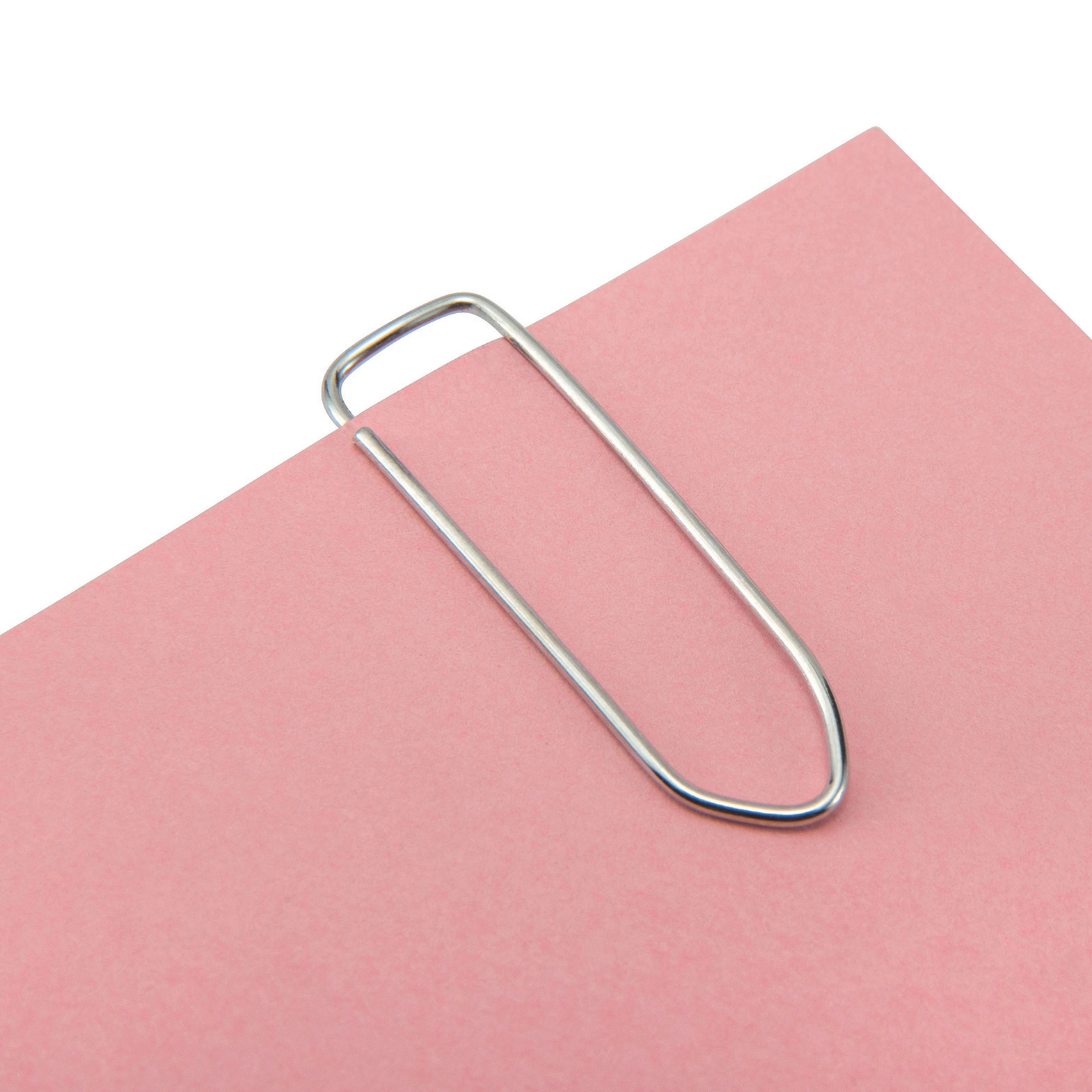 5 Star Office Paperclips Large Non-tear Clip Length 33mm Polished Steel Pack 1000