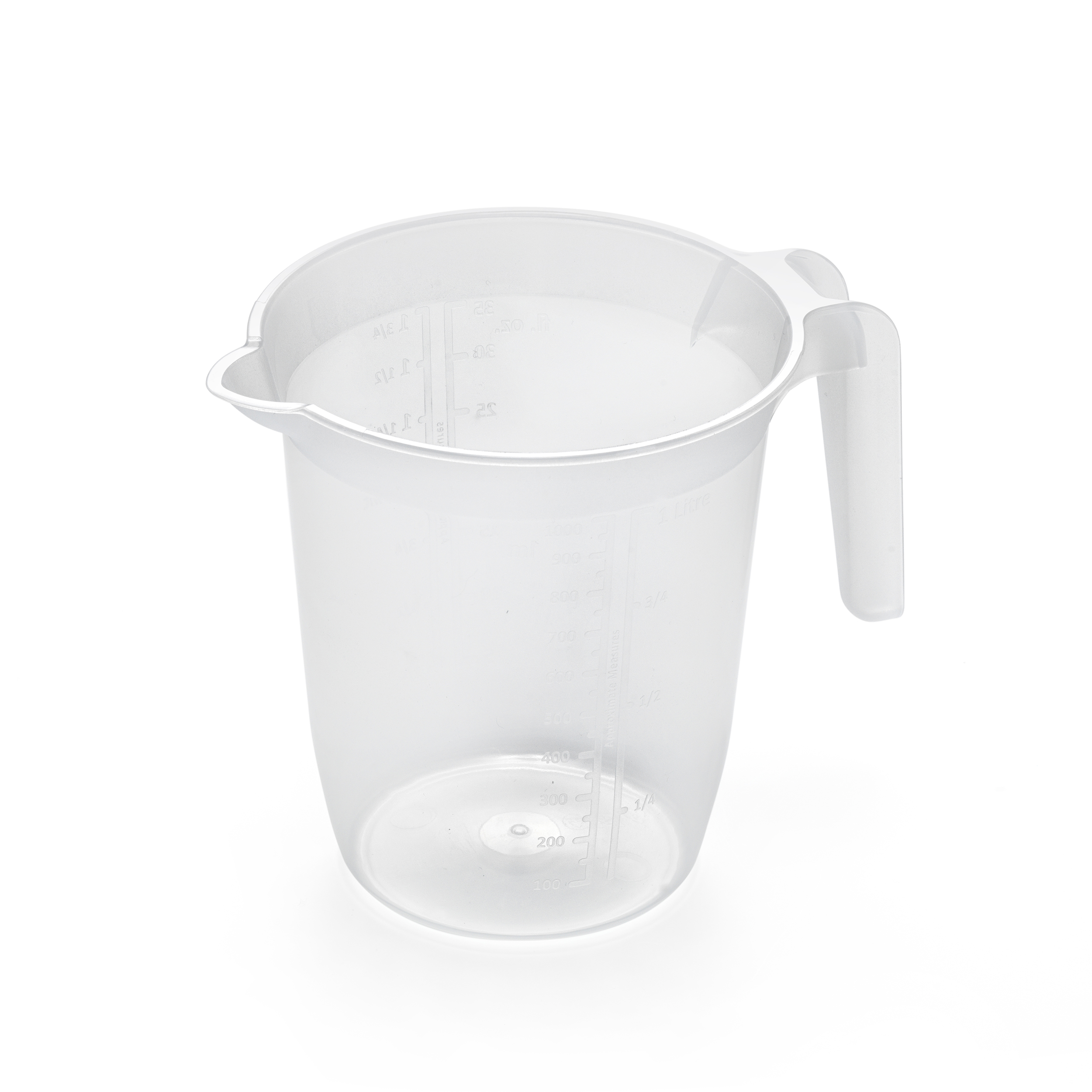 Jugs Addis Measuring Jug 1 Litre Plastic Clear Ref 518006