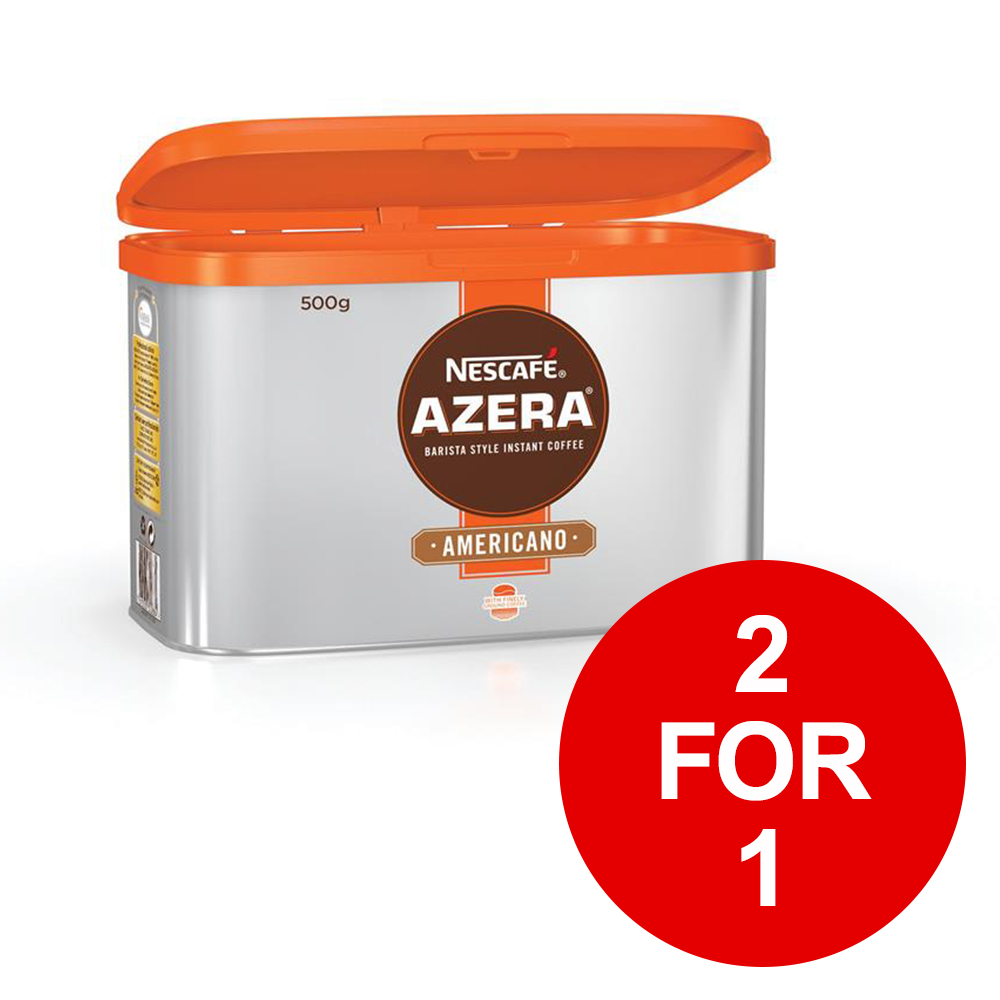 Nescafe Azera Barista Style Instant Coffee Americano 500g Ref 122842212 for 1 January 2019