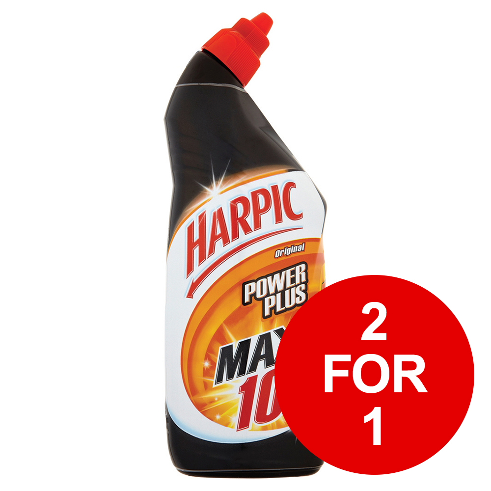 Harpic Power Plus Liquid Original 750ml Ref 384037 [2 for 1] March 2019