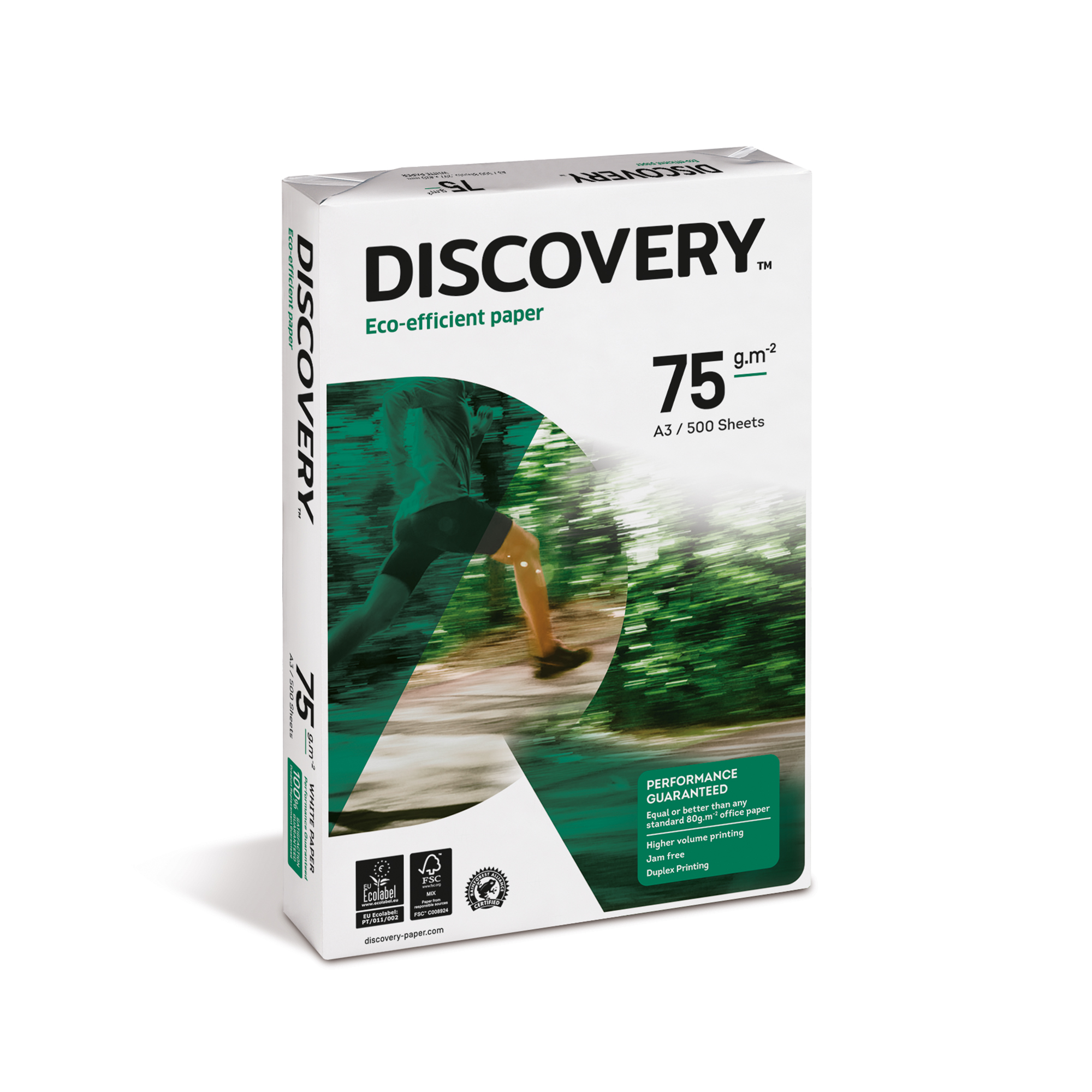 A3 Discovery Paper FSC Ream-Wrapped 75gsm A3 White 500 Sheets