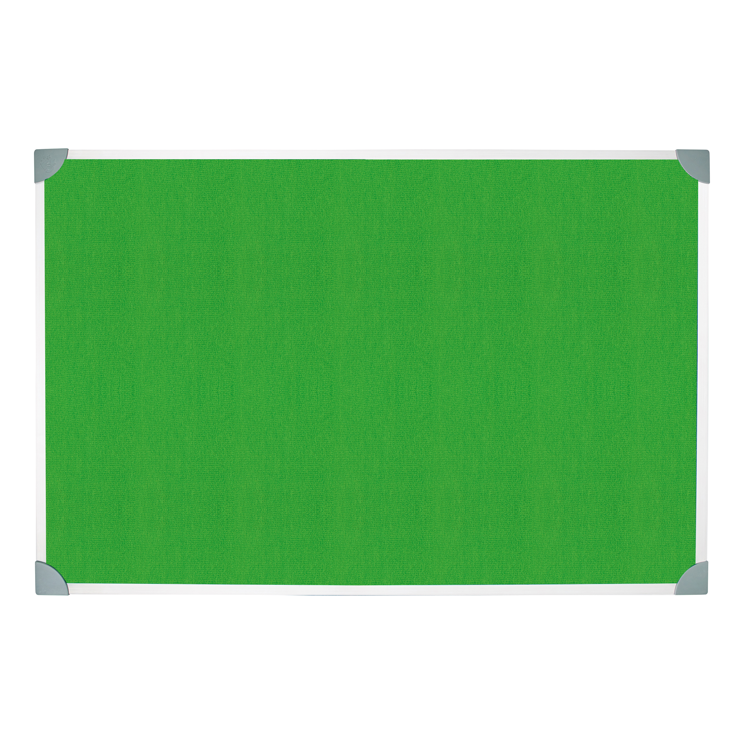 Bulletin boards or accessories 5 Star Green Felt Noticeboard 1200x900mm Aluminium Frame