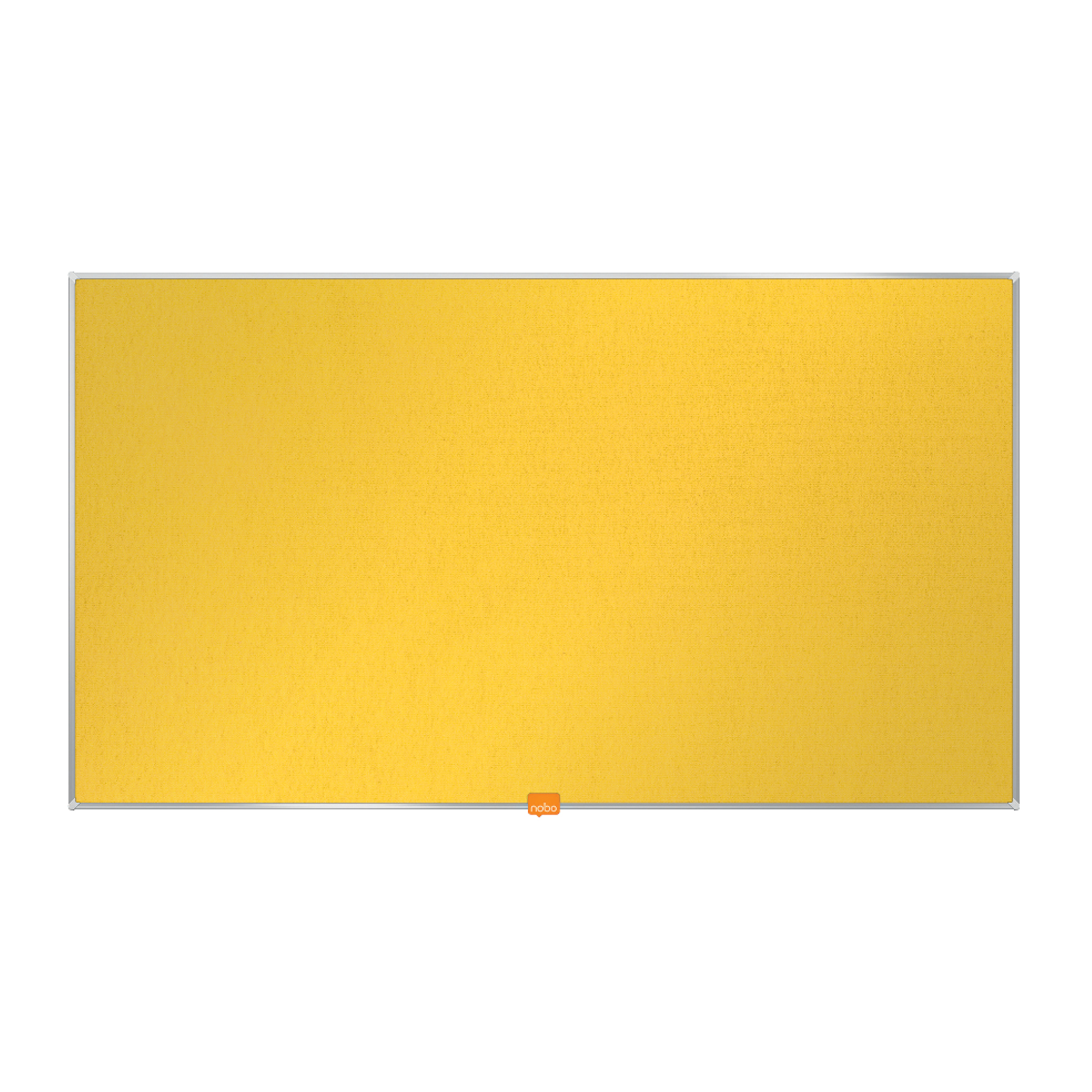 Bulletin boards or accessories Nobo 40 inch Widescreen Felt Board 890x500mm Yellow Ref 1905319