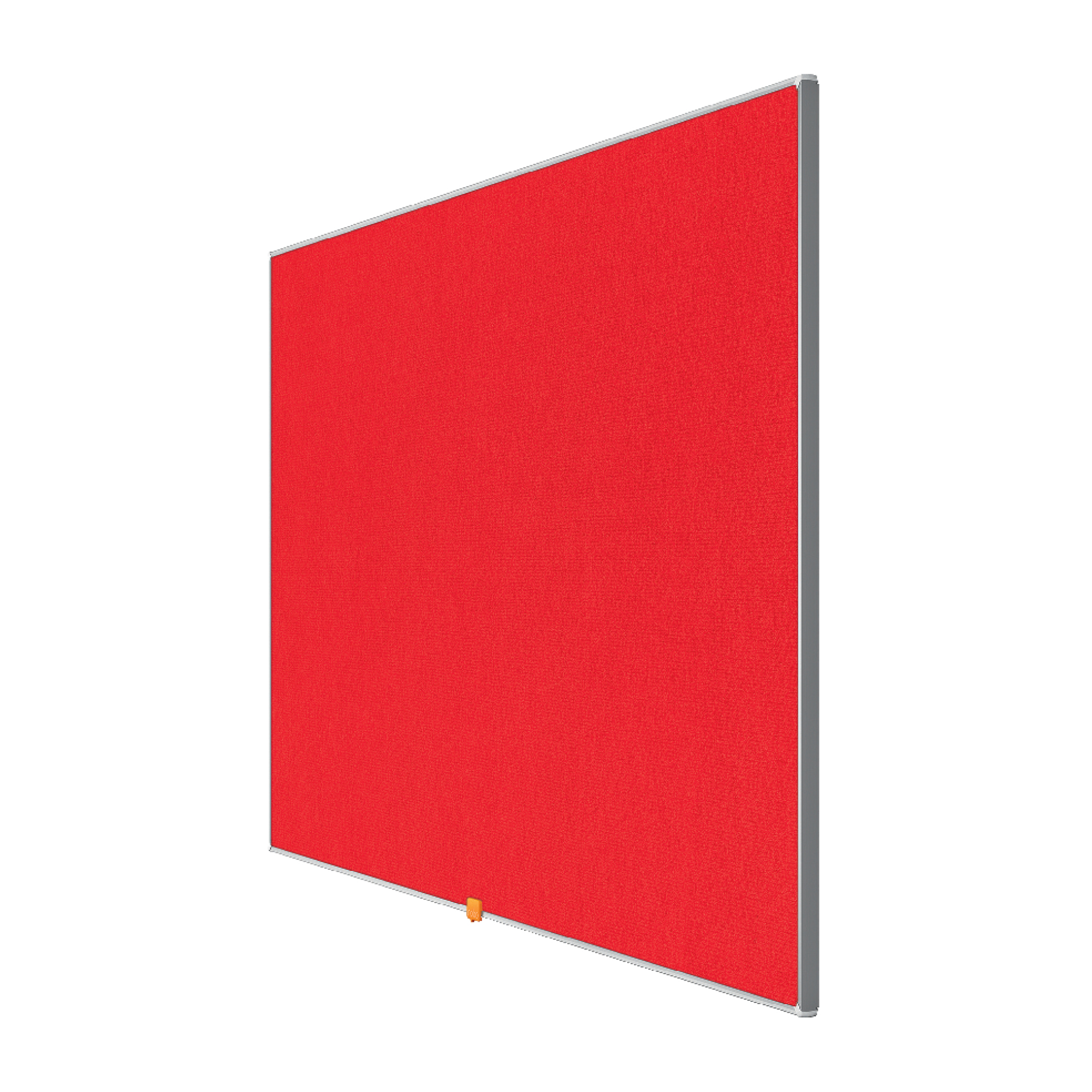 Bulletin boards or accessories Nobo 55 inch Widescreen Felt Board 1220x690mm Red Ref 1905312