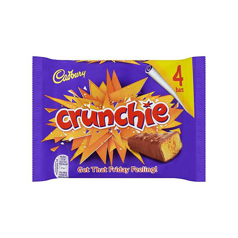 Cadbury Crunchie Chocolate Bars Ref 4248447 [Pack 4]