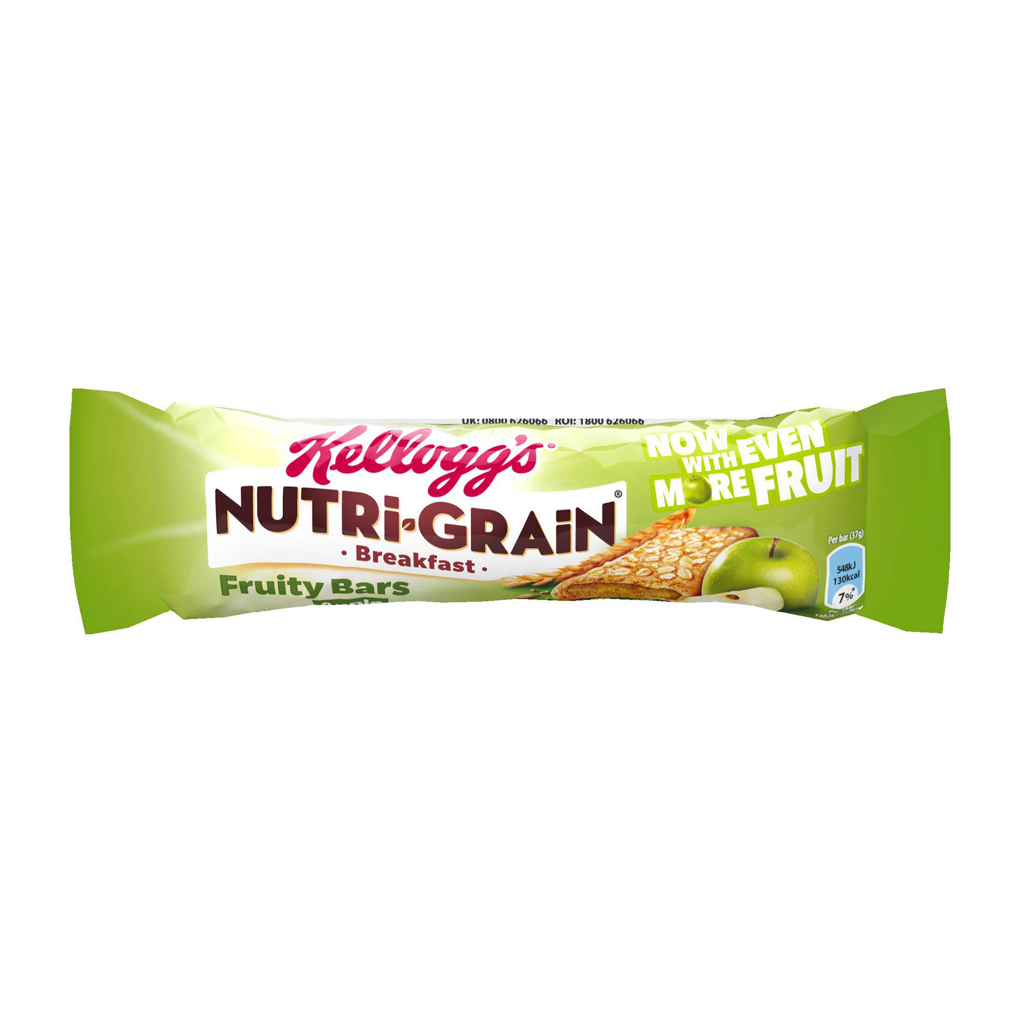 Breakfast / Snacks Nutri-Grain Breakfast Bar Apple 37g Ref 5008318668 [Pack 25]