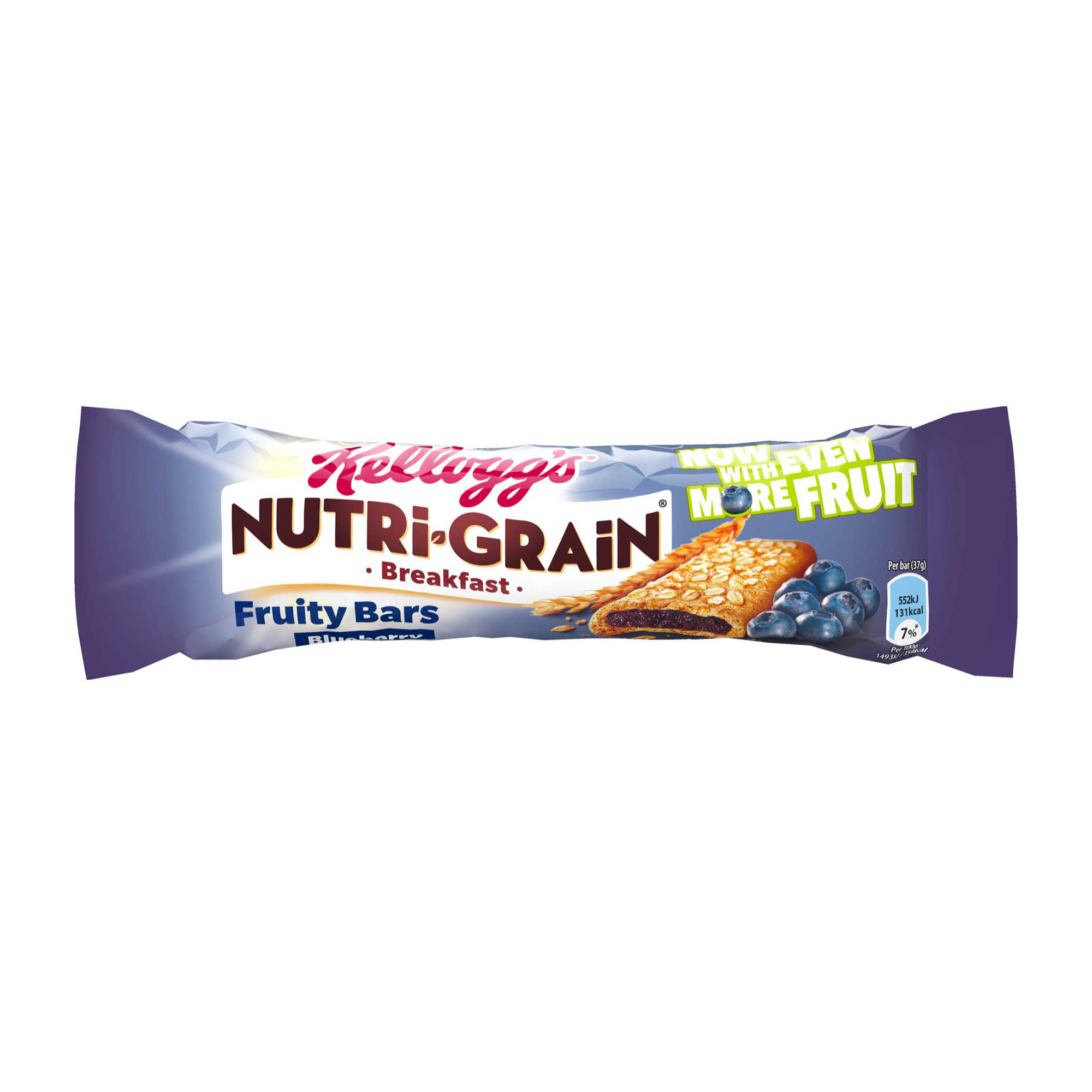 Breakfast / Snacks Nutri-Grain Breakfast Bar Blueberry 37g Ref 5008318683 Pack 25