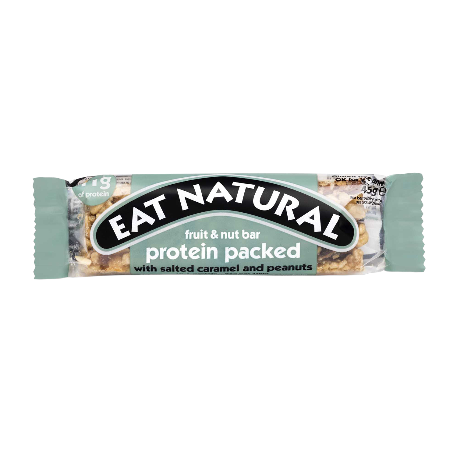 Breakfast / Snacks Eat Natural Fruit Nut Bar Salted Caramel & Peanuts 45g Ref PSC [Pack 12]