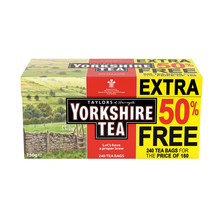 Tea bags Yorkshire Tea Bags Ref 0403387 Pack 240
