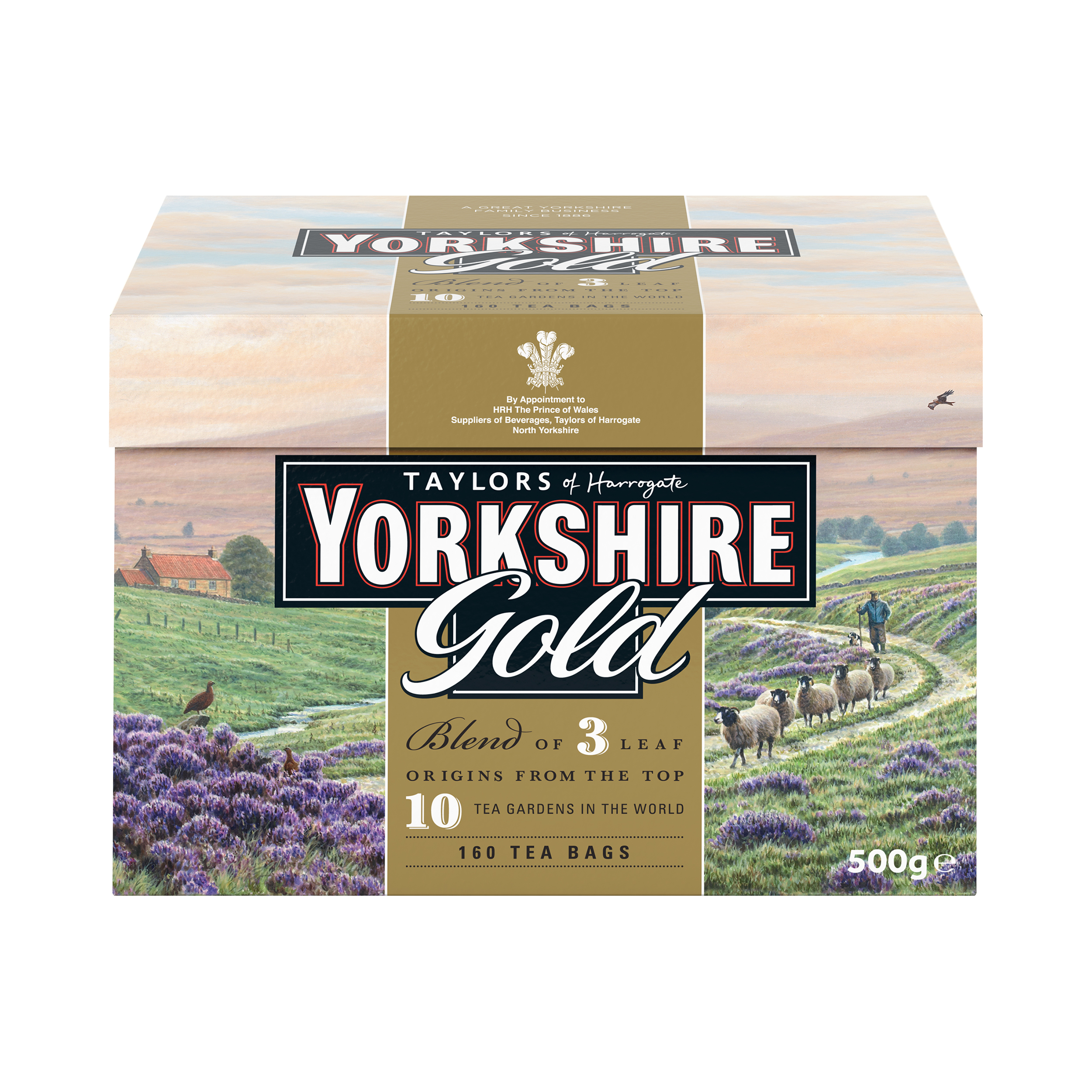 Tea bags Yorkshire Gold Tea Bags Ref 0403384 Pack 160