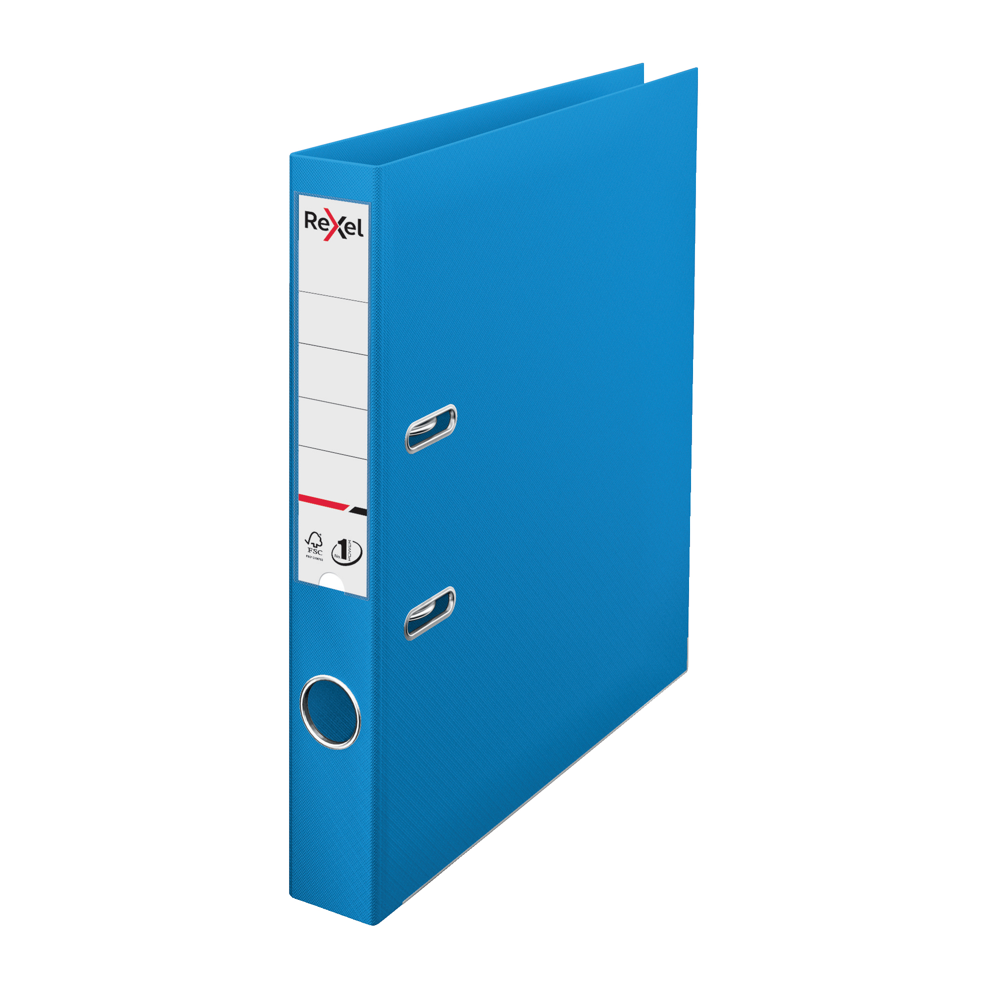 Lever arch file Rexel Choices LArch File PP 50mm A4 Blue Ref 2115507