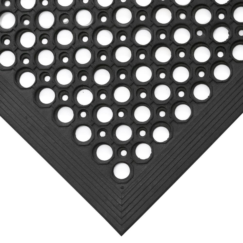 COBA Ramp Entrance Mat Hard-wearing Bevelled Edge Rubber 800x1200mm Ref RP010002