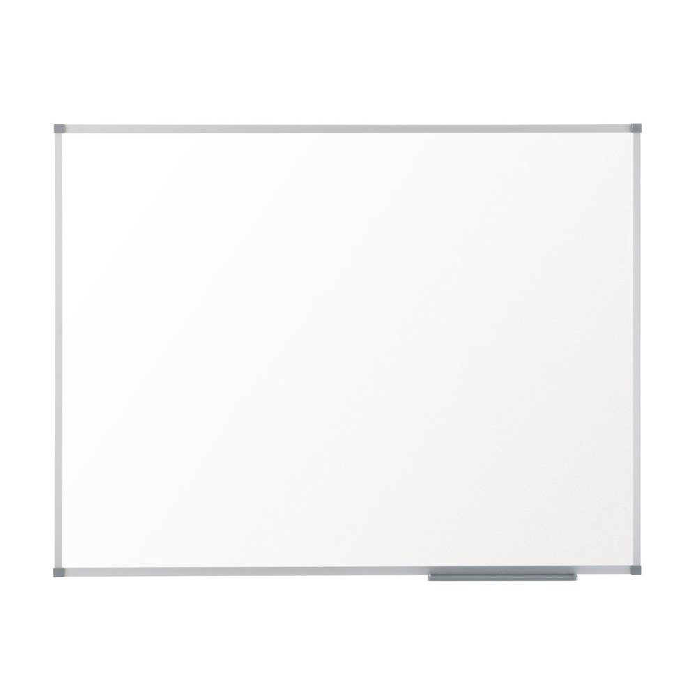 Nobo Basic Steel Whiteboard Magnetic Fixings Included W900xH600mm White Ref 1905210