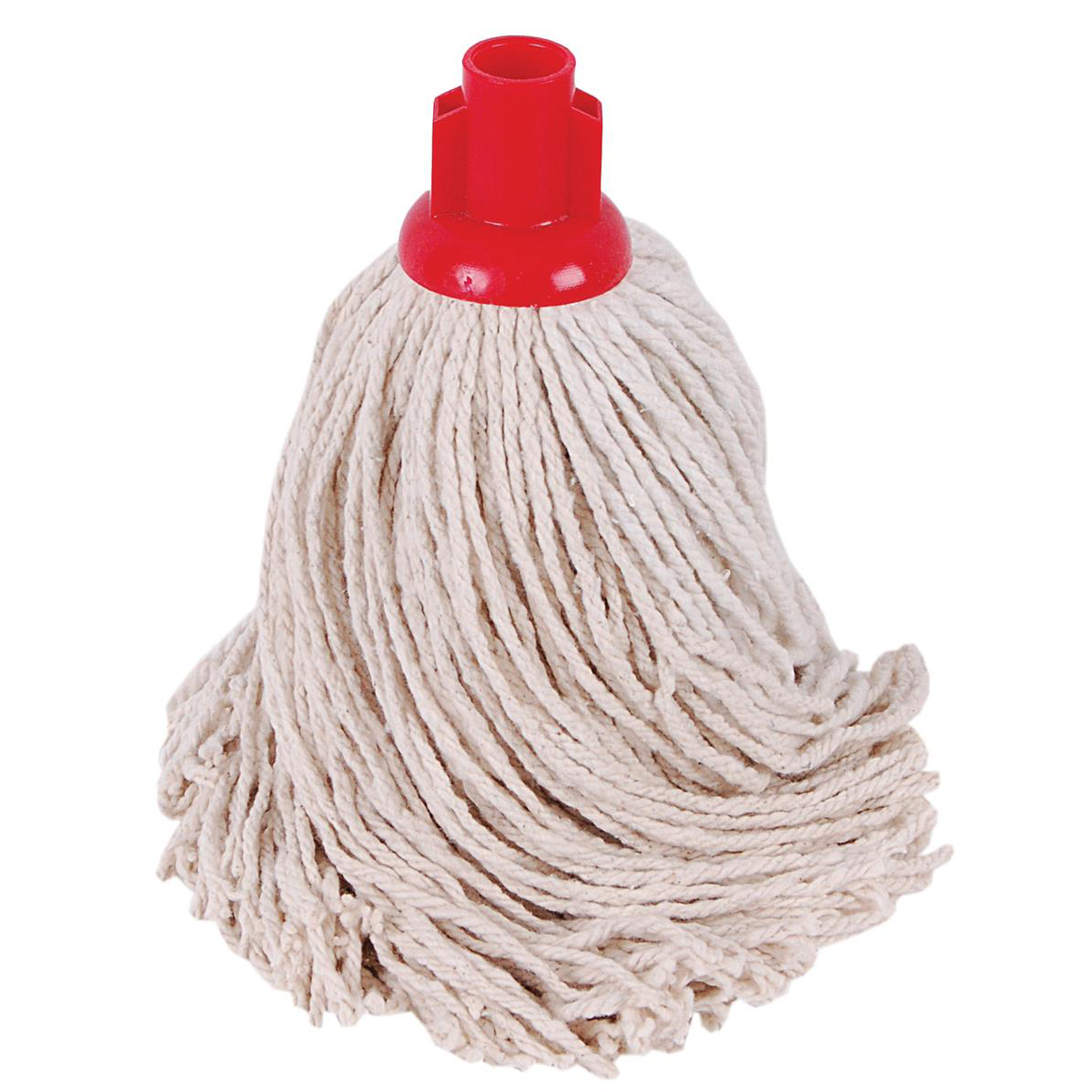 Robert Scott & Sons Socket Mop for Smooth Surfaces PY 16oz Red Ref 101876RED [Pack 10]