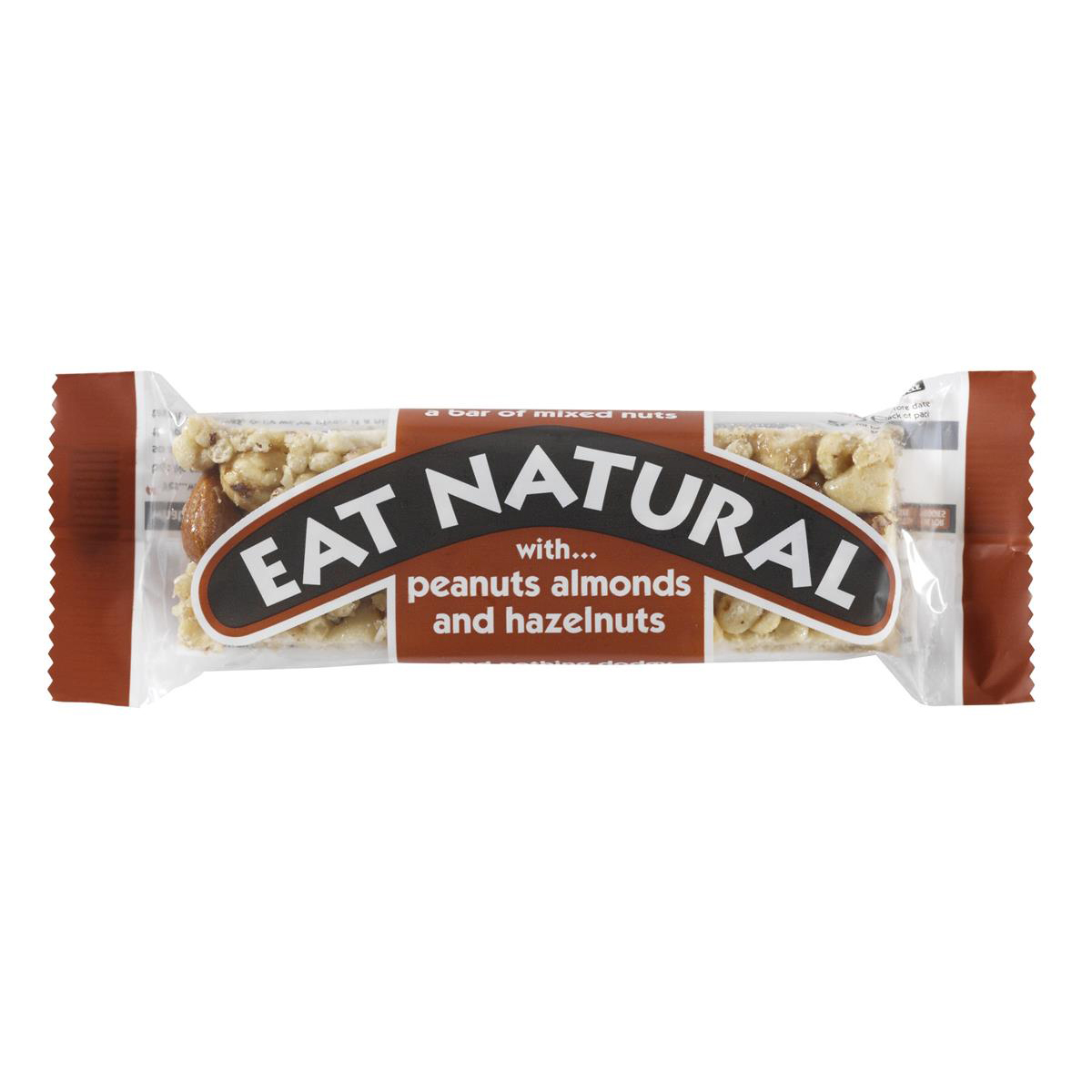 Eat Natural Bar Peanuts Hazelnuts & Almonds 50g Ref 5008354547 [Pack 12]