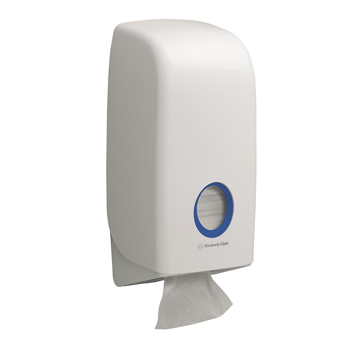Toilet Tissue & Dispensers Kimberly-Clark AQUARIUS* Bulk Pack Toilet Tissue Dispenser W168xD123xH341mm White Ref 6946
