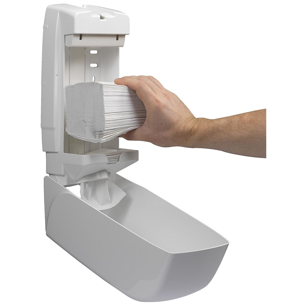 Kimberly-Clark AQUARIUS* Bulk Pack Toilet Tissue Dispenser W169xD123xH341mm White Ref 6946