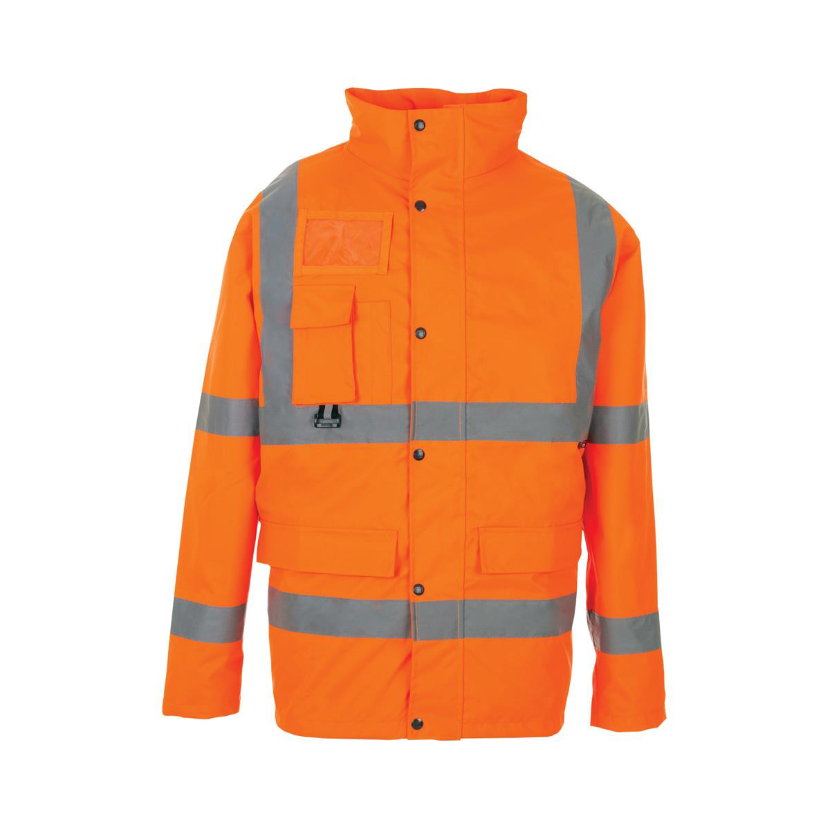 ST High Vis Breathable Jacket with 2 Band & Brace Extra Large Orange Ref 35B84 *Approx 3 Day Leadtime*