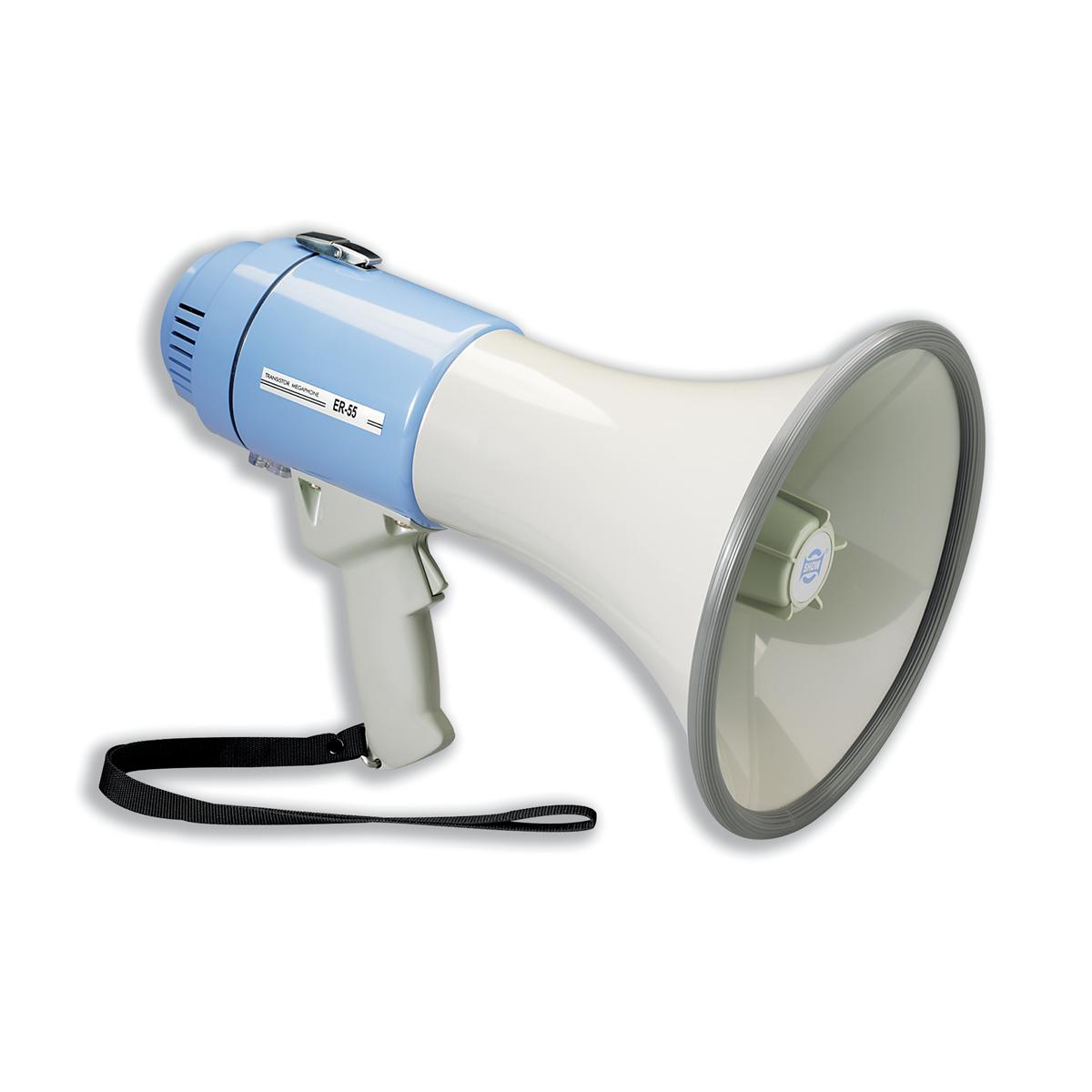 Megaphones Power Megaphone Hand-held Battery Operated with Volume Control Ref IVGSMEPH