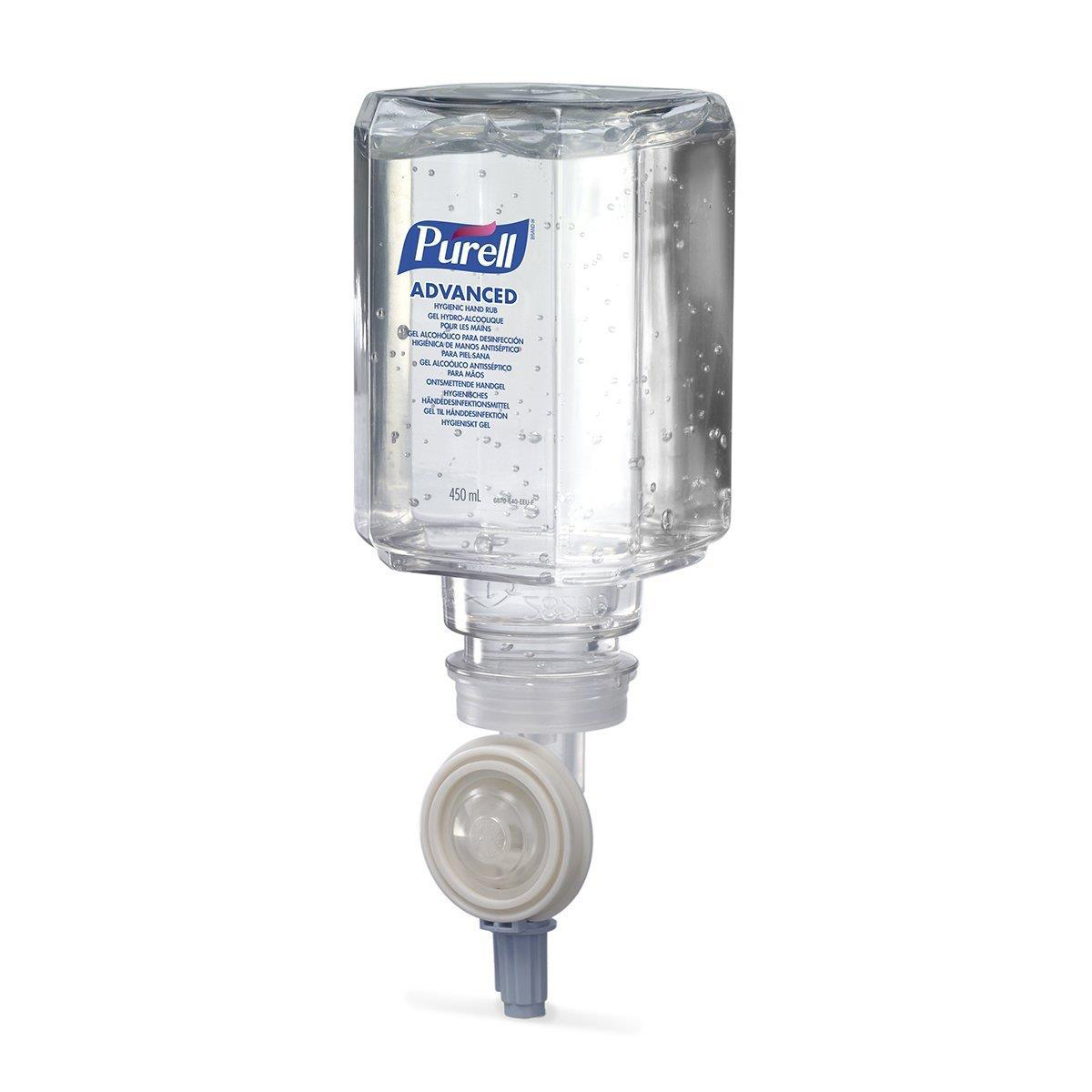 PURELL ES Everywhere System Hand Rub Refill Bactericidal Fragrance-free 450ml Ref N07723 Pack 6
