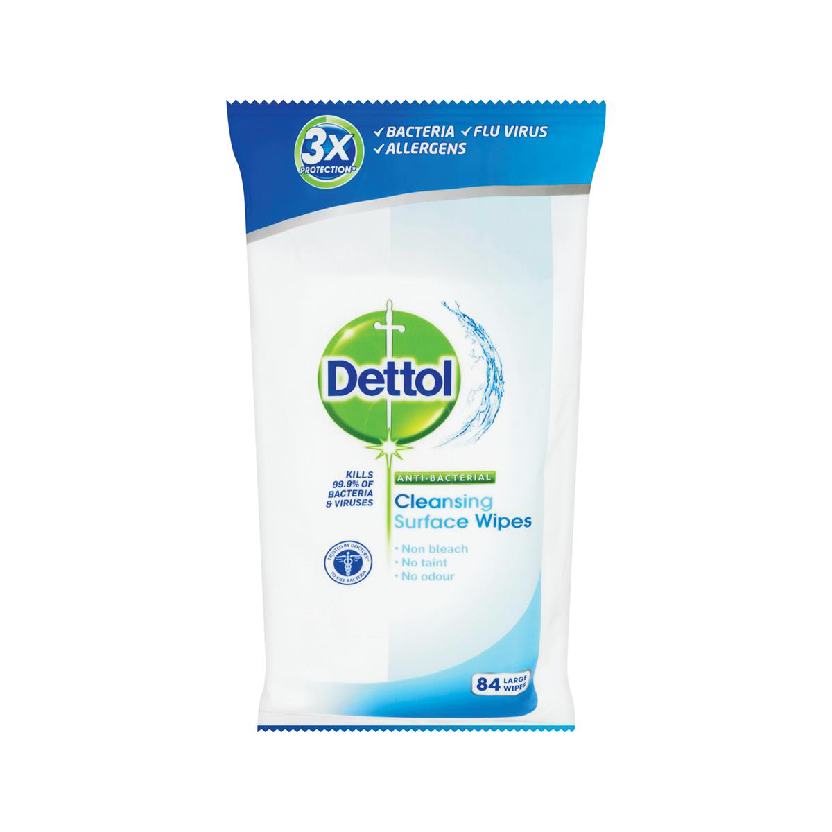 Dettol Antibact Surface Wipes PK84