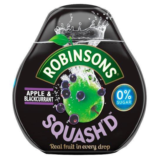Robinsons Squash D No Added Sugar Apple & Blackcurrant 66ml Ref 0402041 [Pack 6]
