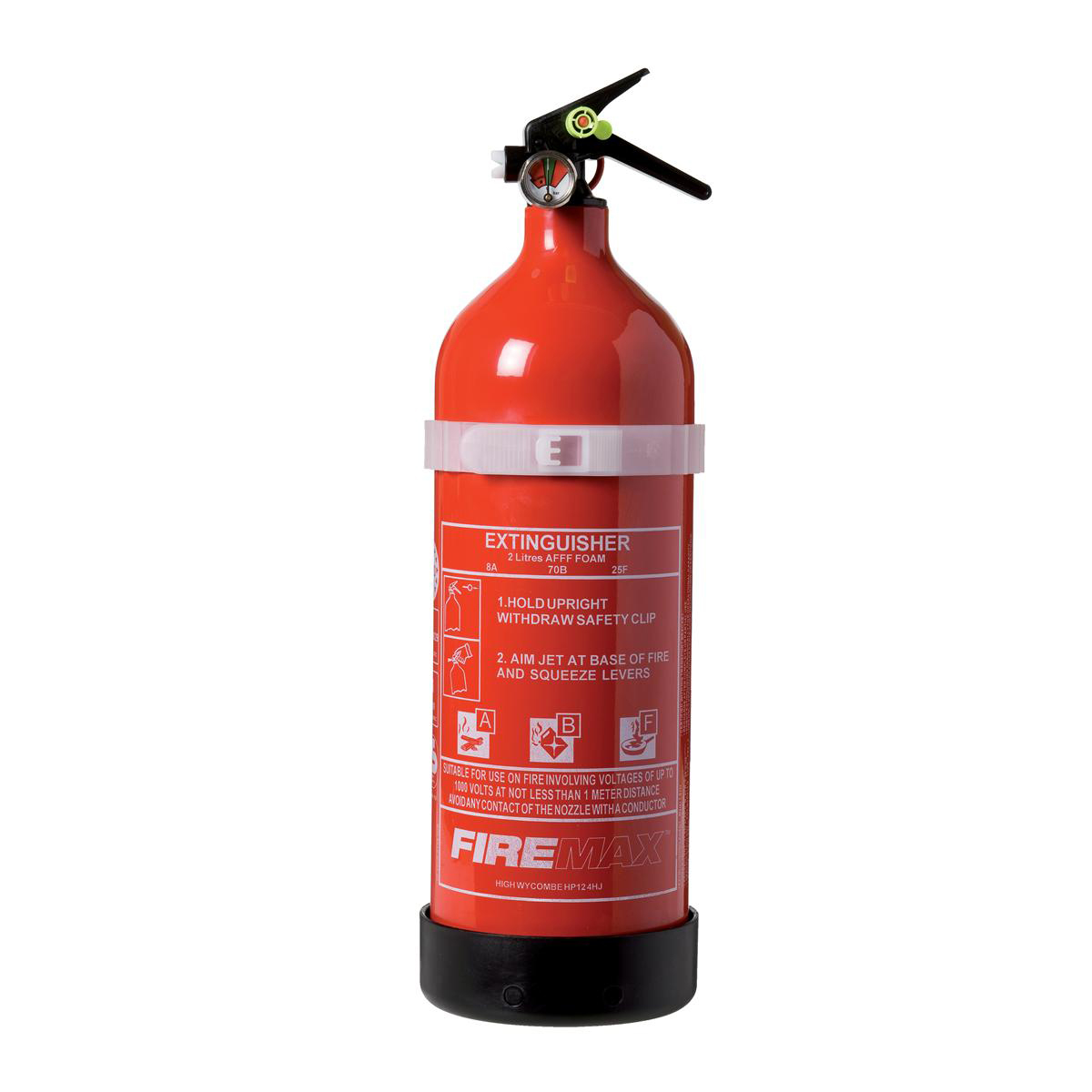 Foam IVG 2.0LTR Foam Fire Extinguisher for Class A and B Fires Ref WG10130