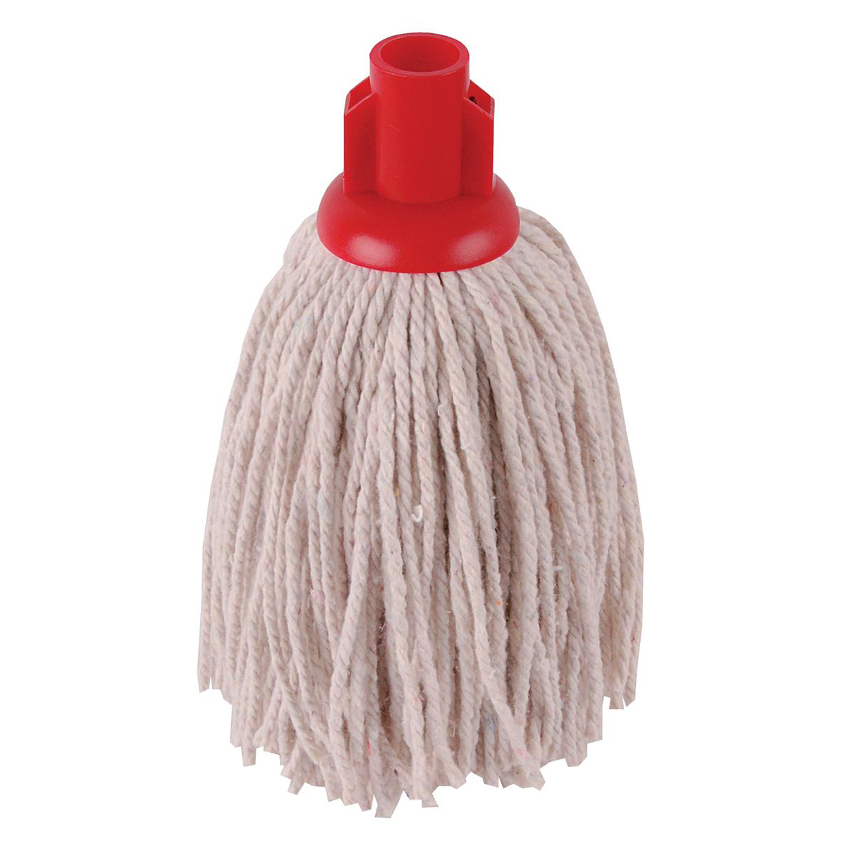 Robert Scott & Sons PY Socket Mop for Smooth Surfaces 12oz Red Ref 101870RED [Pack 10]