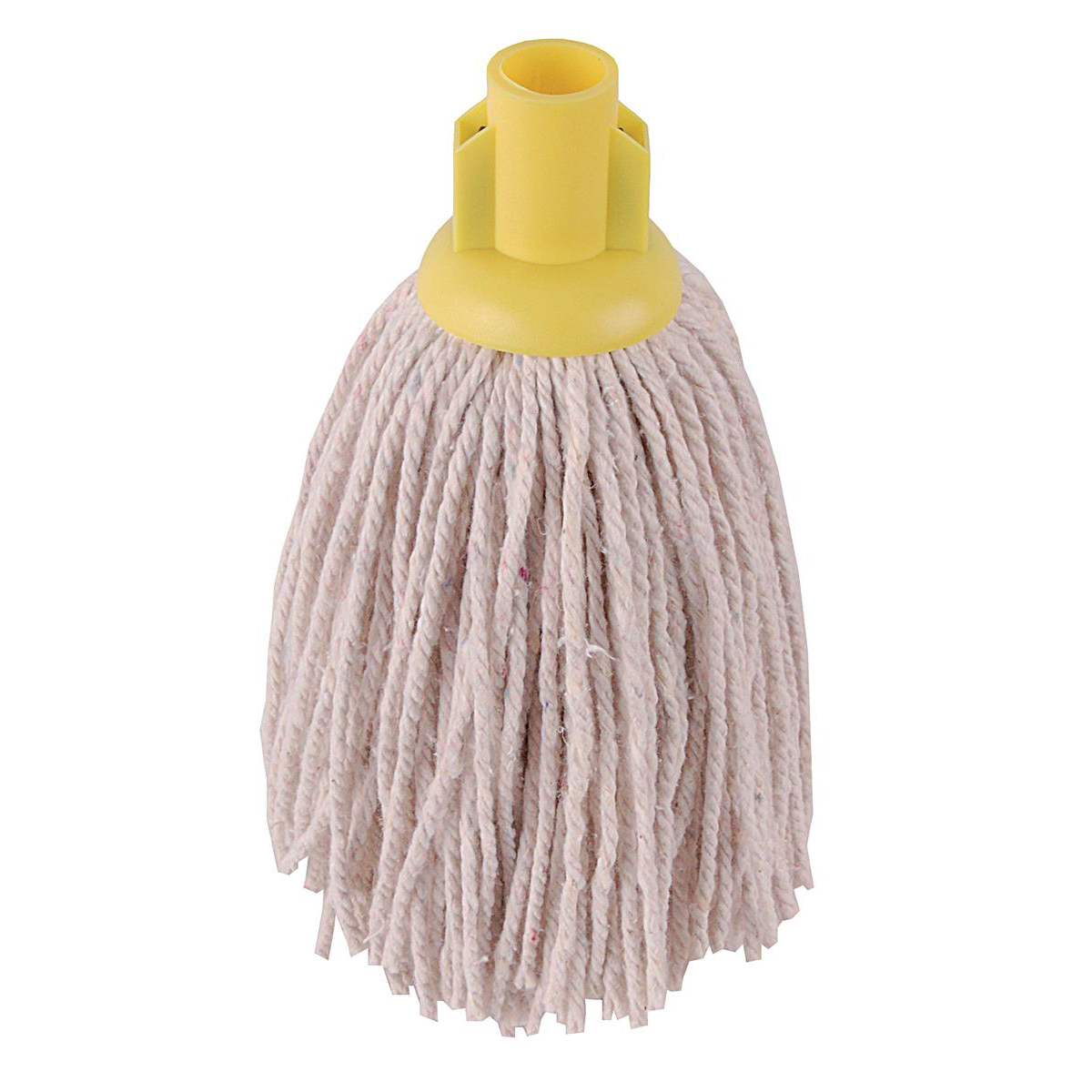 Robert Scott & Sons PY Socket Mop for Smooth Surfaces 12oz Yellow Ref 101870YELLOW [Pack 10]